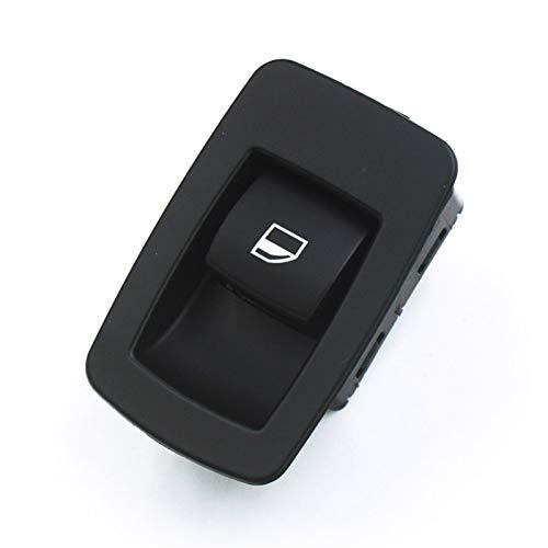 Qivor 61316945874 Interruptor de Levantador de Ventana Negro Frente Izquierda o Derecha para BMW E53 E71 E72 E83 E90 E91 316I 318i 320i K.M