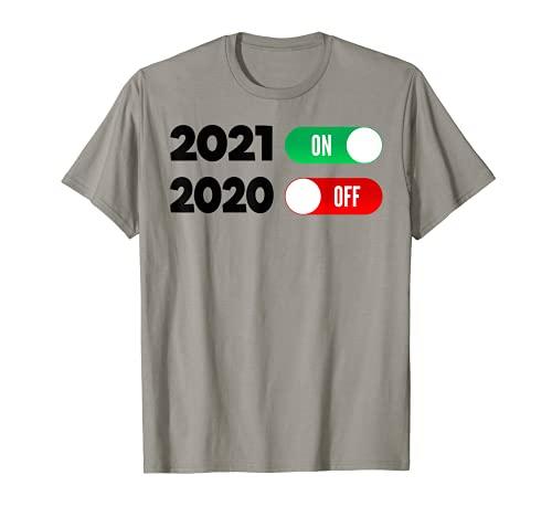 Nochevieja Feliz año nuevo 2021 Camiseta