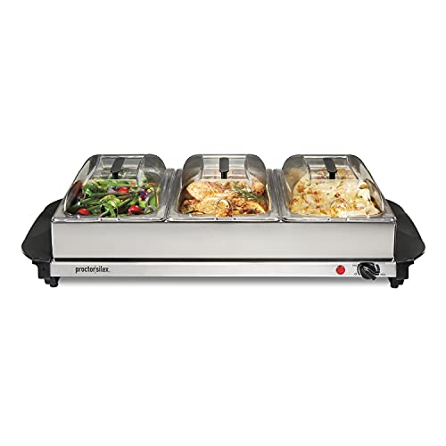 Proctor Silex Server & Food Buffets Food Warmer...