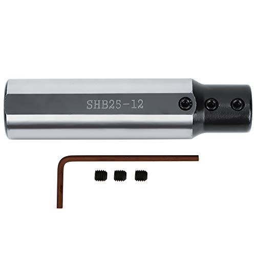 Carbide Boring Bar, Boring Bar Holders Small Bore Inner Hole Turning Tool Tungsten Steel Carbide Boring Bar Φ12mm SHB25‑12