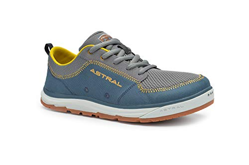 Astral Men's Brewer 2.0 Everyday Minimalist Outdoor Sneakers, Grippy and Quick Drying, Made for Water Sports, Travel, and Rock Scrambling, Storm Navy, 11 M US