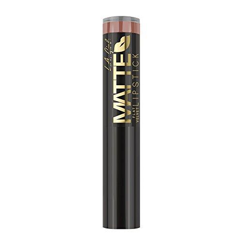 L.A. Girl Barra de labios Matte Flat Velvet Lipstick Snuggle 25 gr
