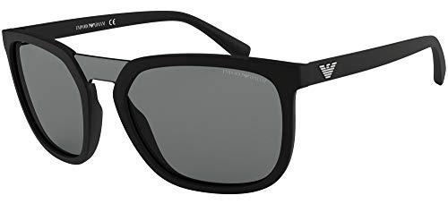 Emporio Armani 0EA4123 Gafas de sol, Black, 45 para Hombre