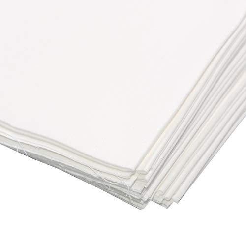 Pre-Cut Fat Quarter Quilting Cotton Off White Fabric Bundles,18x20 Inch Rose Flavor(6pcs)