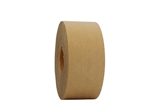 T.R.U. WAT-WAE Water Activated Reinforced Kraft Paper Gummed Tape: 2.75 inches x 450 feet (Pack of 1)