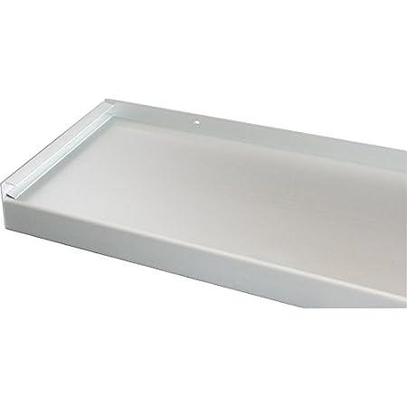 600 mm Lang Fensterbank Fensterbrett 400 mm Tief Silber Ohne Seitenteile
