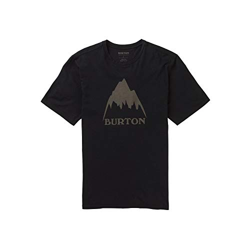Burton Classic Mountain High, Maglia A Maniche Corte Uomo, True Black, XS