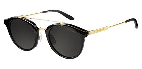 Carrera Herren 126/S NR 6UB 49 Sonnenbrille, Schwarz (Gd/BRW Grey)