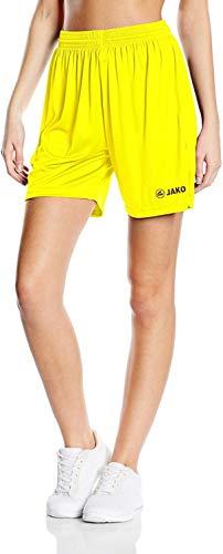 JAKO Sporthose Manchester_4412 - Pantalón Corto Unisex, Unisex Adulto, Color Jaune (Citro), tamaño Extra-Large