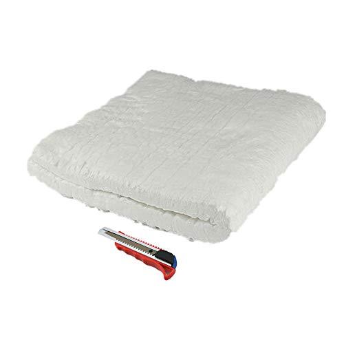 "HM&FC 1""x 12""x 24"" Ceramic Fiber Insulation Blanket 2400F"