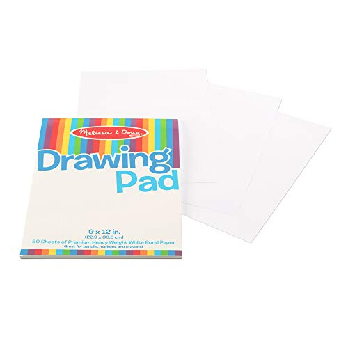 Melissa & Doug Drawing Pad 9 x 12 in