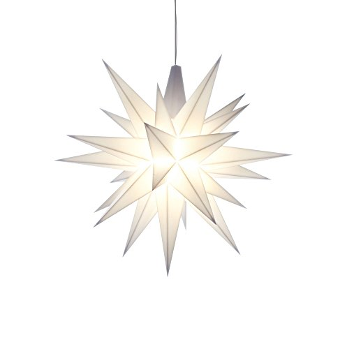 Herrnhuter Sterne Innenstern 13cm weiss