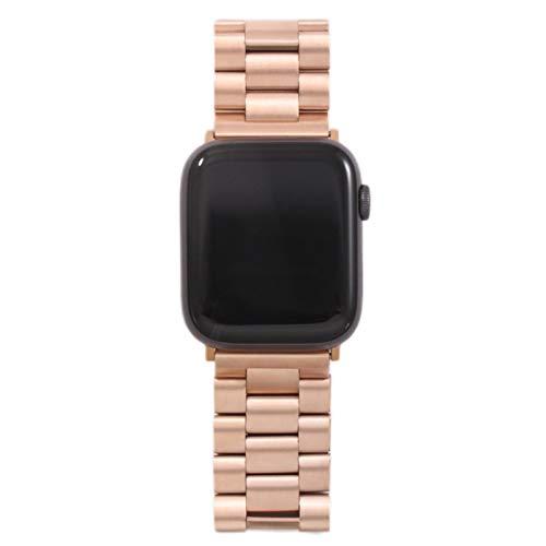 Correa para Apple Watch6 5 4 3 2 1 42mm 38mm 40MM 44MM Correa de pulsera de acero inoxidable de metal Correa para accesorios de la serie iWatch