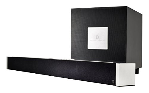 Definitive Technology W Studio 5.1 Wireless Soundbar & Subwoofer (DTS play-fi per multi Room tecnologia) Nero