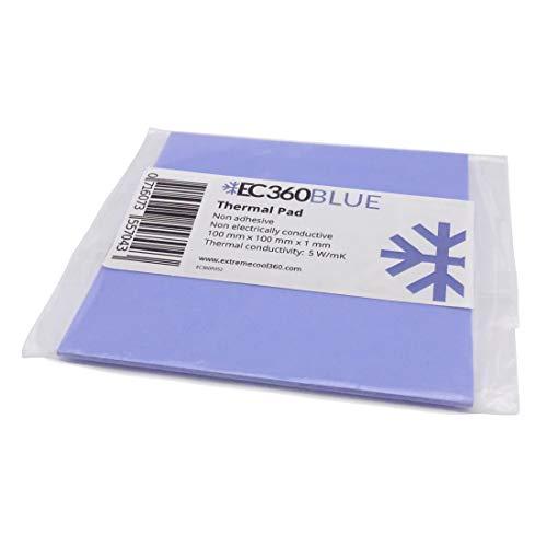 EC360® Blue 5W/mK Wärmeleitpad (100 x 100 x 1,0 mm)
