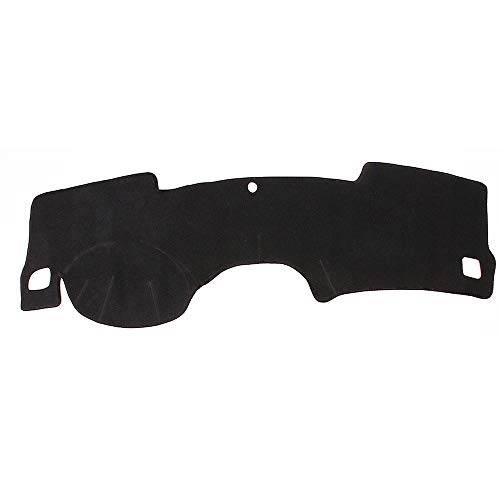 YXSMYS Zwart vilt stof dashboard pad zonnebrandcrème pad links roer gordijn Voor Chevrolet Malibu 2012-2015
