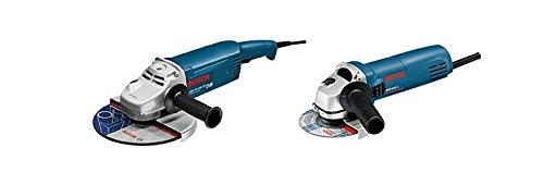 Bosch 0615990H1Z Winkelschleifer Set Professional, Schleifer 22-230 JH Plus GWS 850 C inklusive Zubehör in Handwerkerkoffer, 2200 W, 230 V