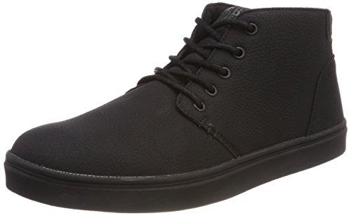 Urban Classics Hibi Mid Shoe, Zapatillas Hombre, Color: Negro, 42...