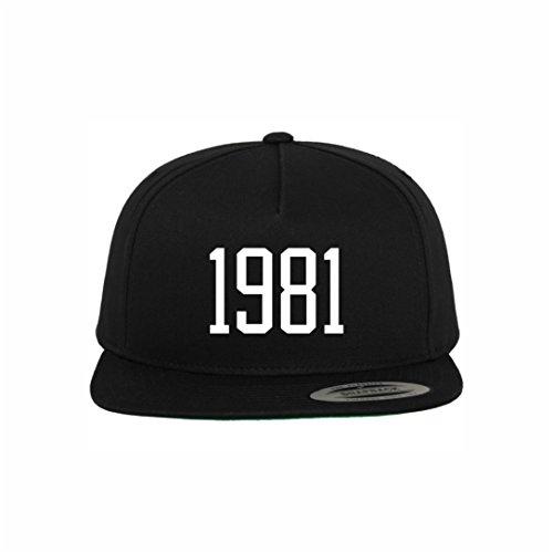 Jahreszahl 1981 Snapback Cap | Cocaine Casino