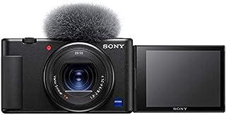 Sony Vlog camera ZV-1 | Digital Camera (Vari-angle Screen for Vlogging, 4K Video) ZV1BDI.EU - Black
