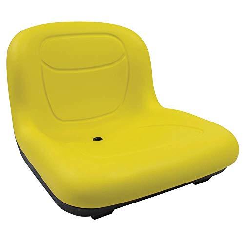 Stens - 420-182 High Back Seat, John Deere AM131531, ea, 1, Yellow