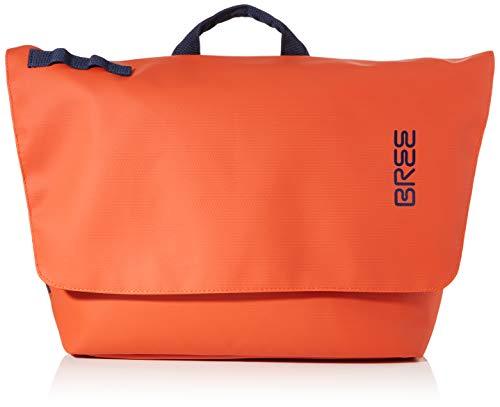 BREE Unisex-Erwachsene Punch 731, Messenger W19 Umhängetasche, Orange (Pumpkin), 16x30x34 cm