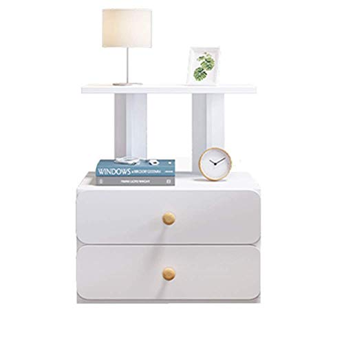 DXCSAA Bedside Tables Side Table for Small Spaces Cabinet Assembly End Table...
