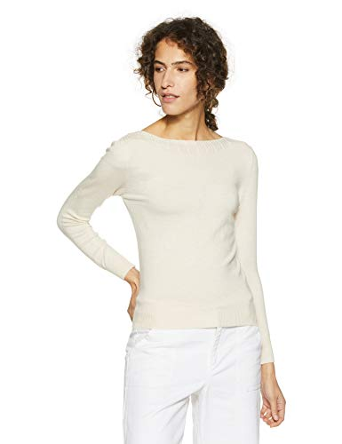 Qube By Fort Collins Women's Sweater (CH103_Apricot_M)