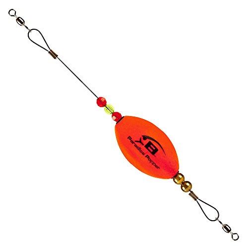 Bomber Saltwater Grade Paradise Popper X-Treme - Orange - Oval