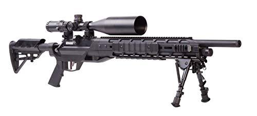 Benjamin Armada BTAP17SX PCP-Powered Multi-Shot Bolt Action .177- Caliber Pellet Hunting And Target Air Rifle Kit