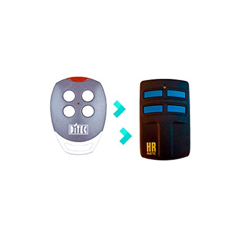 Mando de Garaje Universal HR MULTI 2 compatible DITEC GOL4 C