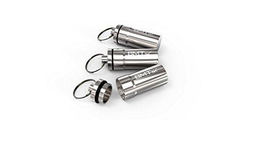 BMTick Auto Mini Geruchfreier TASCHENASCHENBECHER mit Deckel (für Draußen) (3 Pack)