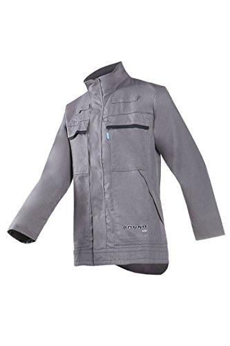 SIOEN 019VA2PF9M44056 Jacke Modena mit ARC-Schutz, grau, EUR 56