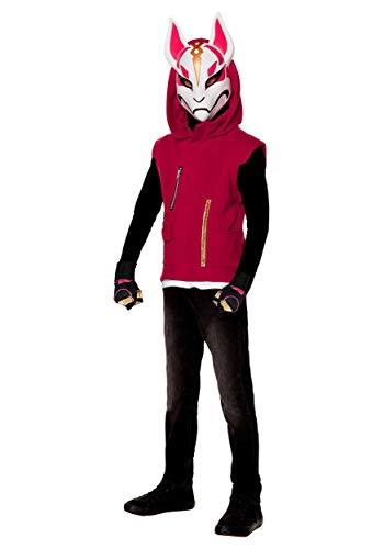 InSpirit Designs Adult Fortnite Drift Costume, red, Large