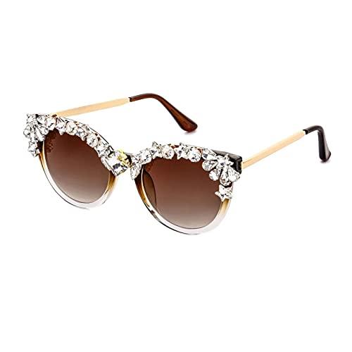 AMFG Gafas De Sol Retro Gafas De Sol De La Tendencia De La Tendencia De Las Gafas De Sol, Sombrilla Al Aire Libre, Gafas Decorativas De Tiro Al Aire Libre (Color : A, Size : M)