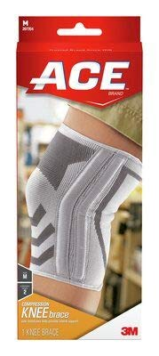 ACE Knee Brace With Side Stabilizers Large 1 Each