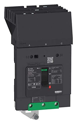 BDA36060-Thermal Magnetic Circuit Breaker, MCCB, PowerPact B-Frame Series, 240 V, 60 A, 3 Pole