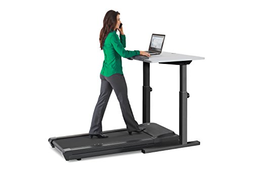LifeSpan TR1200-DT5 Treadmill Desk/Schreibtisch Laufband (Holzkohle DT5c)