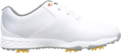 Foot Joy Juniors, Chaussures de Golf Homme, Blanc...
