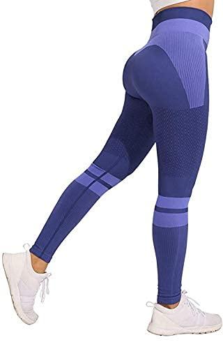 JFAN Pantalones de Yoga Súper Elásticos Cintura Alta para Mujer Mallas de...