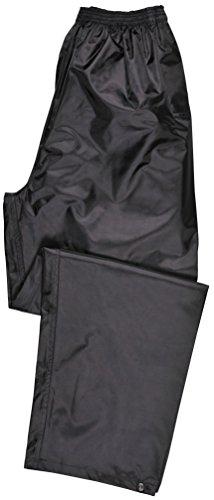 Portwest Klassische Regenhose für Erwachsene Unisex, Farbe: Schwarz, Größe: M, S441BKRM
