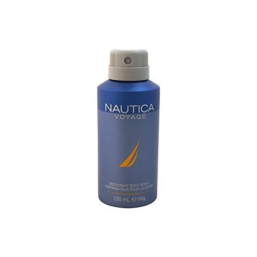 NAUTICA Voyage Deodorant Body Spray, 5 Fluid Ounce
