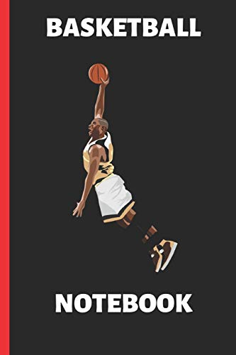 Basketball Notebook: Funny Writing 120 Pages Notebook Journal - Small Lined (6