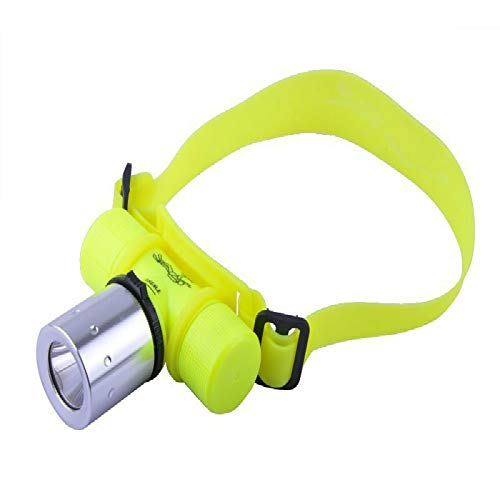 lliang Lampe Frontale LED Underwater Waterproof 60m Diving Headlamp Headlight Dive Flashlight Head Light Lamp Torch