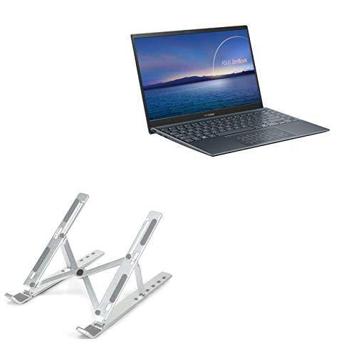 Suporte e suporte BoxWave para ASUS ZenBook 14 UM425UG [suporte compacto QuickSwitch] Portátil, suporte de visualização em vários ângulos para ASUS ZenBook 14 UM425UG - Prata metálica