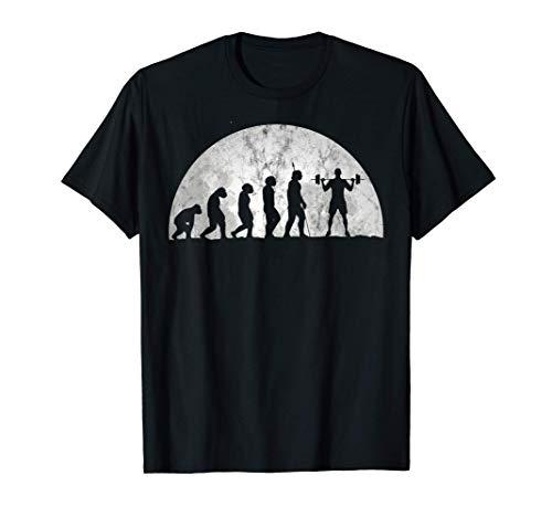 Evolución El culturismo y el levantamiento de pesas Camiseta