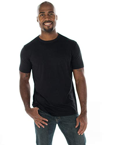 ONNO Men's Bamboo T-Shirt M Black