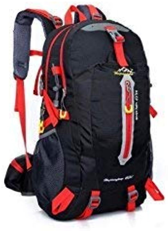 Lizes Faltbare Rucksäcke für Outdoor und Indoor Military Tactical Rucksack Sport Outdoor Klettern Tasche Wanderrucksack (schwarz) für Herren und Damen B07L94LXD4  Vollständige Palette von Spezifikationen