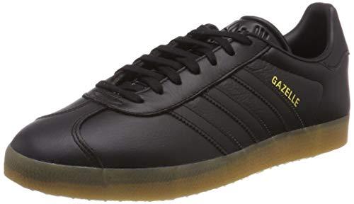 adidas Herren GAZELLE Gymnastikschuhe, Schwarz (Core Black/Core Black/Gum 3), 42 EU(8UK)