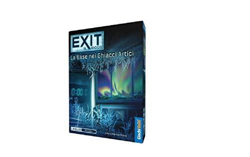 Exit: La base nei ghiacci artici - Escape Room da tavolo | Giochi Uniti